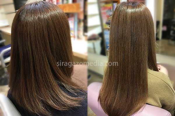 黒髪も白髪も明るく染めるには白髪染めヘアカラー剤の調合が必要