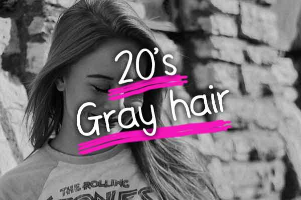 気になる20代〜30代の白髪の量や割合は?多い?少ない?